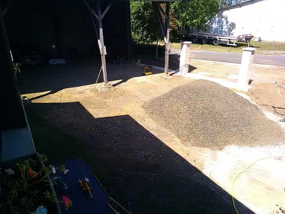 ED-TP aménagement de surface finition parking