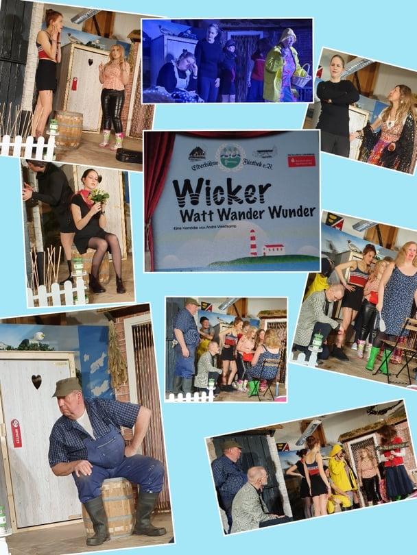 Vorstellung WickerWattWanderWunder | Collage von Zuschauerein Jessica Preuss