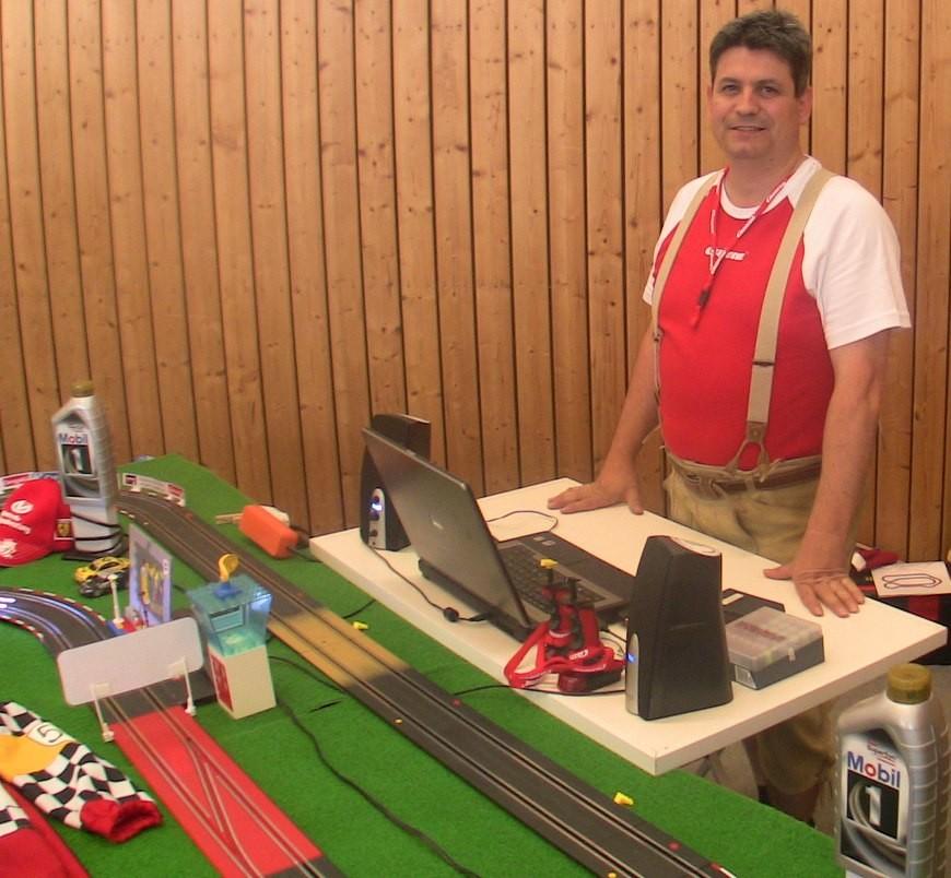 Pisten-Pfarrer als Racing-Instructor