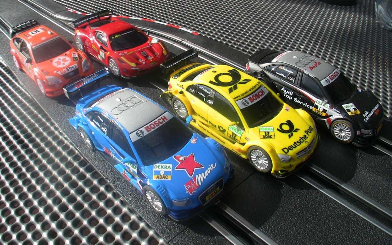 Carrera GO DTM und Rallye Slotcars