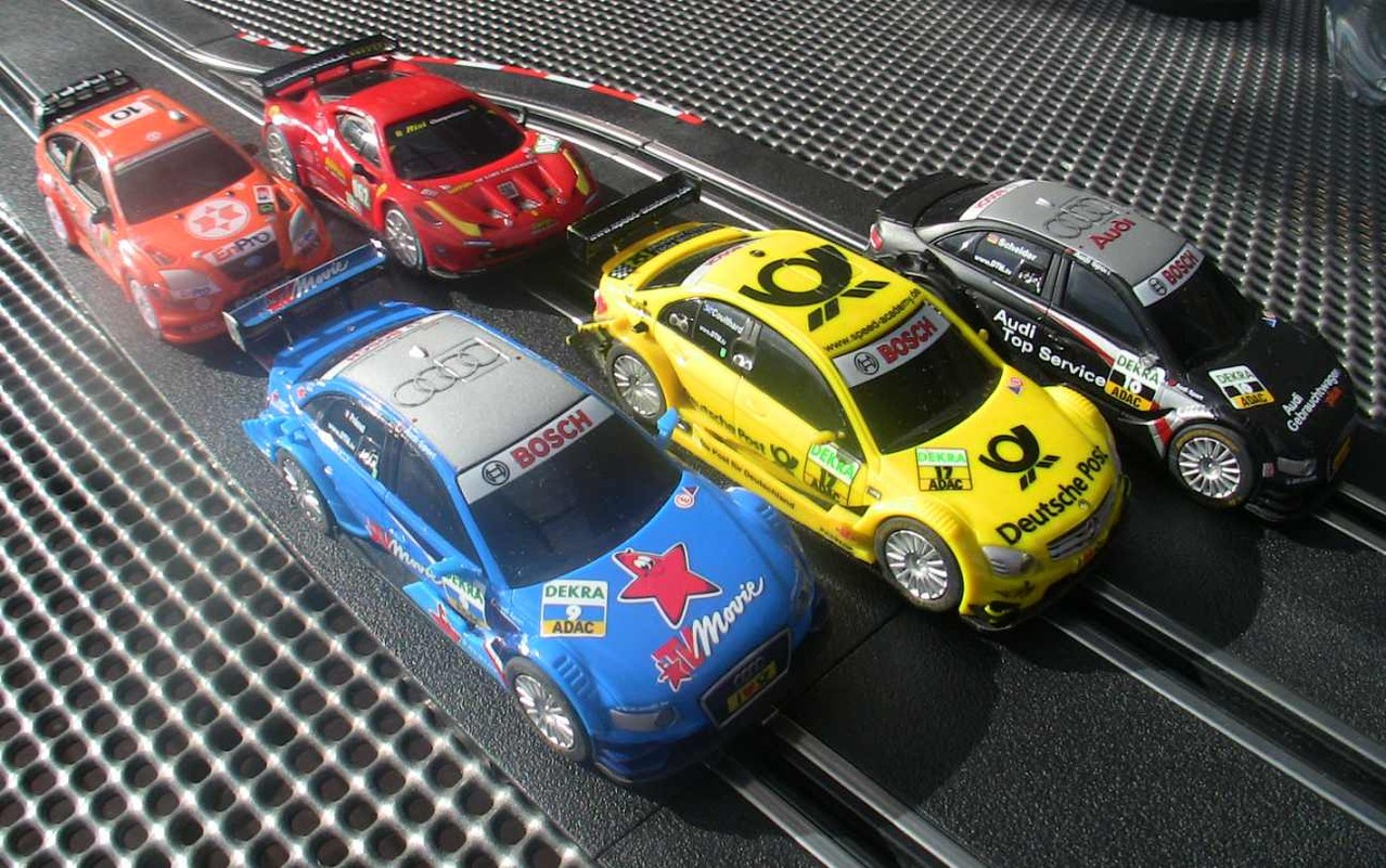Carrera GO!!! DTM und Rallye Slotcars