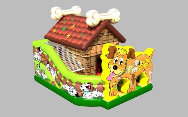 Hundehütte, Platzbedarf 7x5x5 Meter