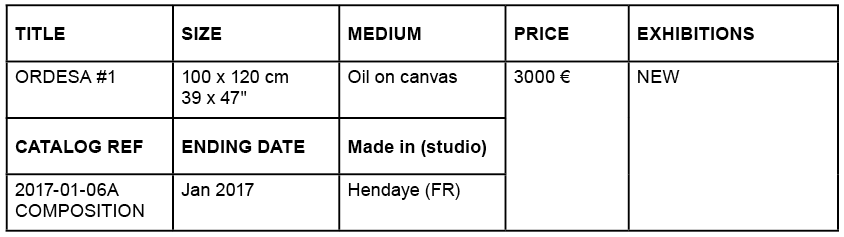 Price details for painting Ordesa #1