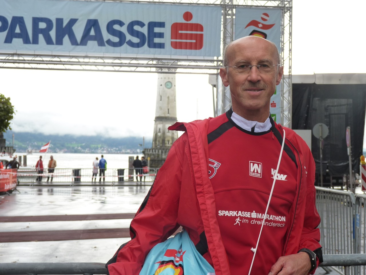 Manfred vor dem Start