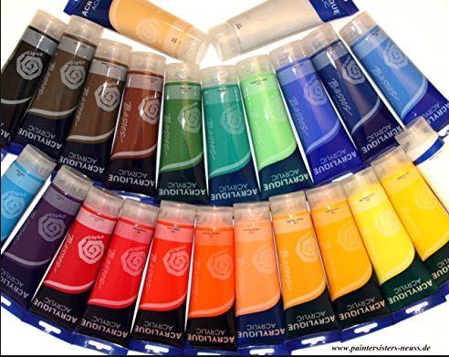 Günstige Künstlerfarben ACRYLIQUE von MAGI