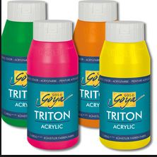 Goya Triton acrylic colors by Kreul