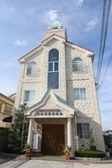 泉佐野福音教会 正面