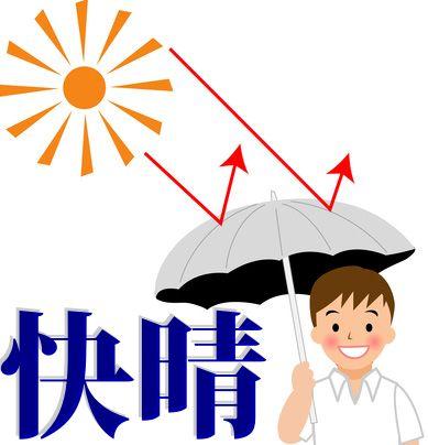 命にかかわる猛暑。男女を問わず日傘をお持ちください