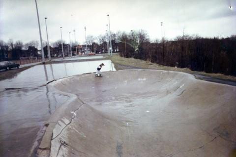 Snakerun in Lüttich, Mitte 80er