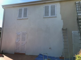 Avant travaux peinture de façade