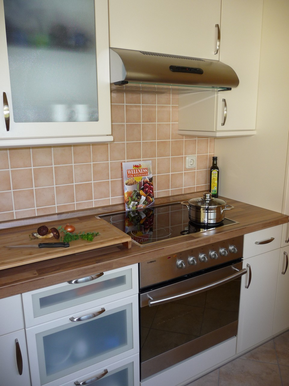 einladende und komfortable Küche