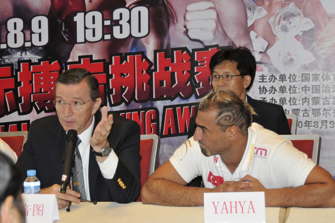 Renshi in China mit Yahya Gülay