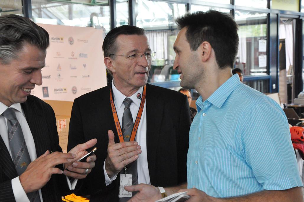 Renshi mit Klaus Nonnemacher und Mladen Steko