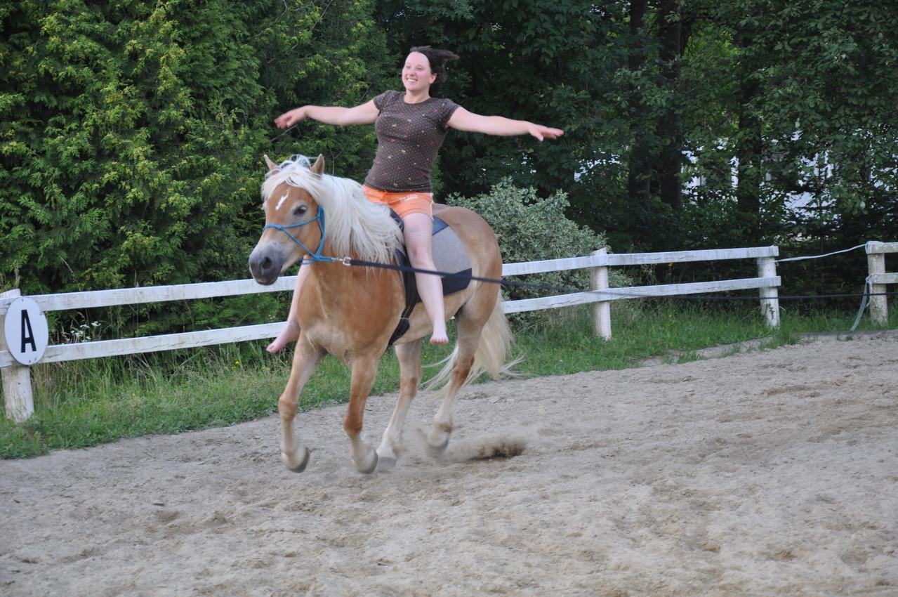 auch Miriam darf eine Runde fliegen! ;-)