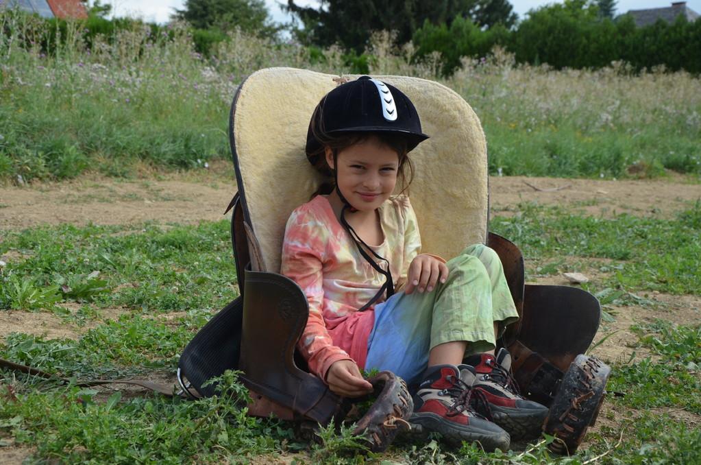ein echtes Cowgirl!