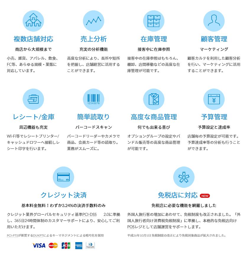 横浜 青葉区でクラウド会計に対応する税理士亀山敦志がお勧めする免税店にも対応するクラウドPOSレジシステムのスマレジです。