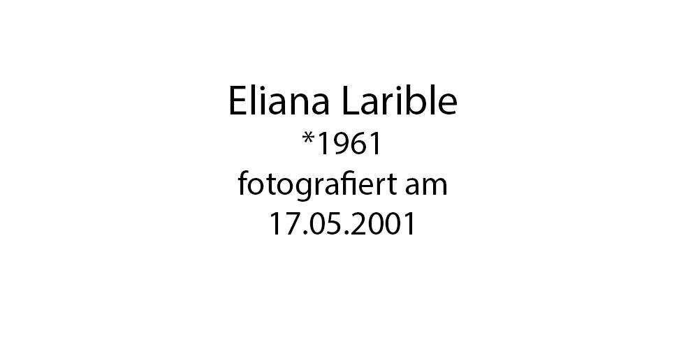 Eliana Larible foto organico Picture Bild Krackhardt Christof Menschen des veröffentlichten Lebens Geburt Birth Datum