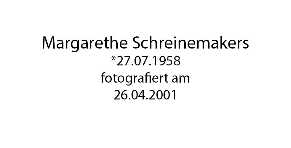 Margarethe Schreinemakers foto organico Picture Bild Krackhardt Christof Menschen des veröffentlichten Lebens Geburt Birth Datum