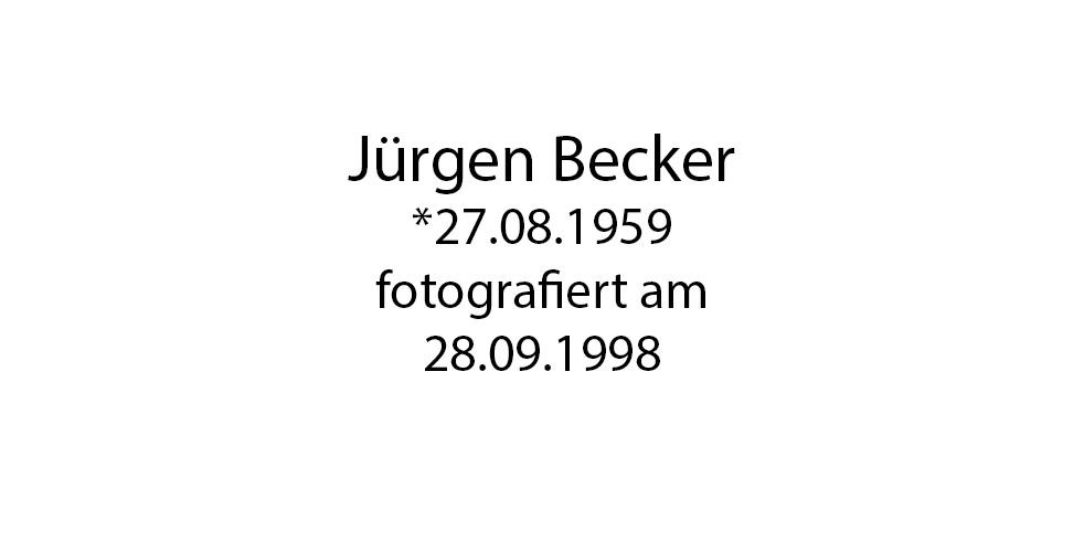 Jürgen Becker foto organico Picture Bild Krackhardt Christof Menschen des veröffentlichten Lebens Geburt Birth Datum