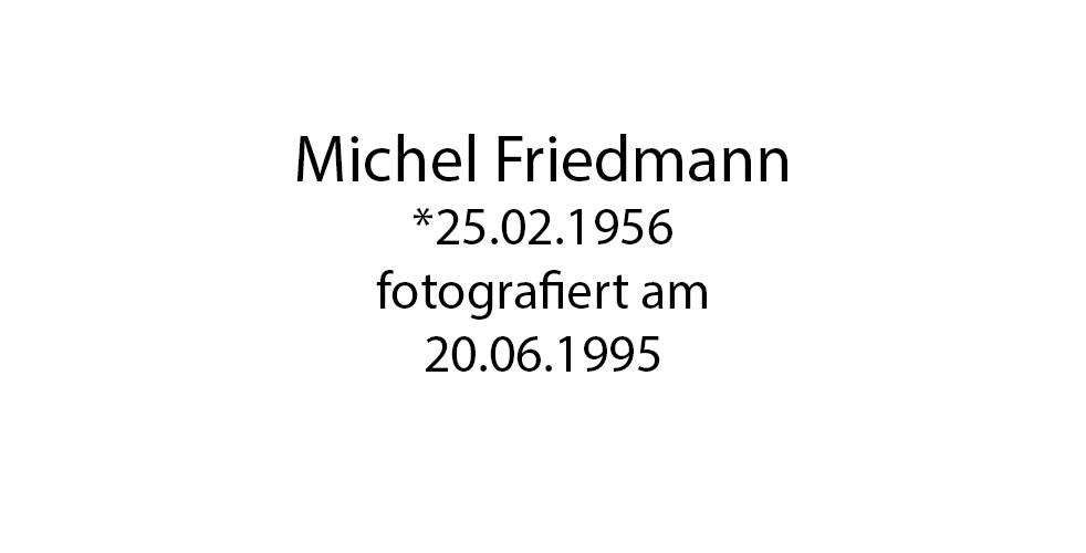 Michel Friedmann foto organico Picture Bild Krackhardt Christof Menschen des veröffentlichten Lebens Geburt Birth Datum