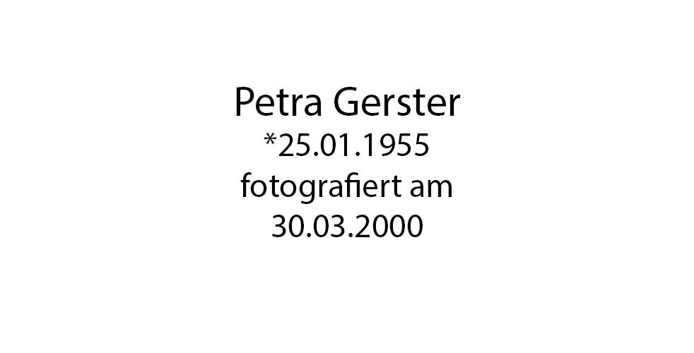 Petra Gerster foto organico Picture Bild Krackhardt Christof Menschen des veröffentlichten Lebens Geburt Birth Datum