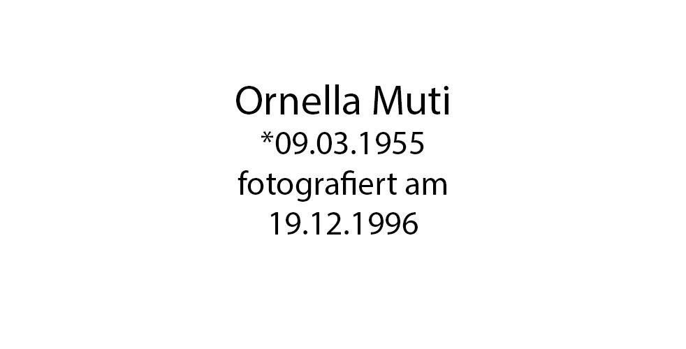 Ornella Muti foto organico Picture Bild Krackhardt Christof Menschen des veröffentlichten Lebens Geburt Birth Datum