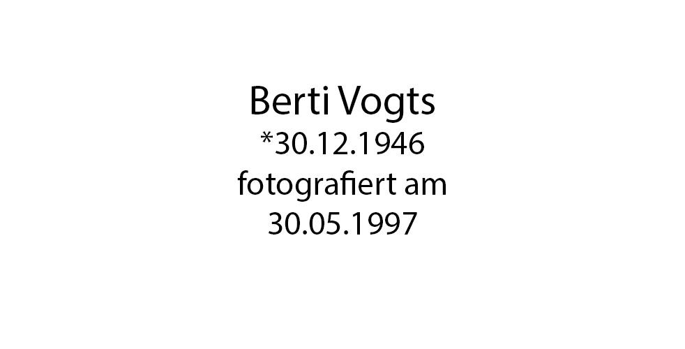 Berti Vogts foto organico Picture Bild Krackhardt Christof Menschen des veröffentlichten Lebens Geburt Birth Datum