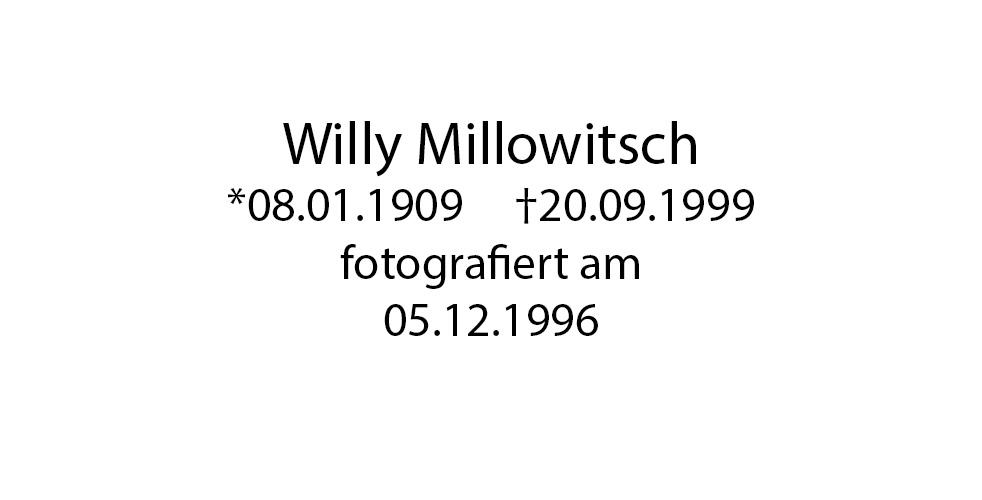 Willy Millowitsch foto organico Picture Bild Krackhardt Christof Menschen des veröffentlichten Lebens Geburt Birth Datum