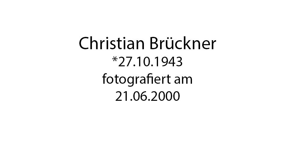 Christian Brückner foto organico Picture Bild Krackhardt Christof Menschen des veröffentlichten Lebens Geburt Birth Datum