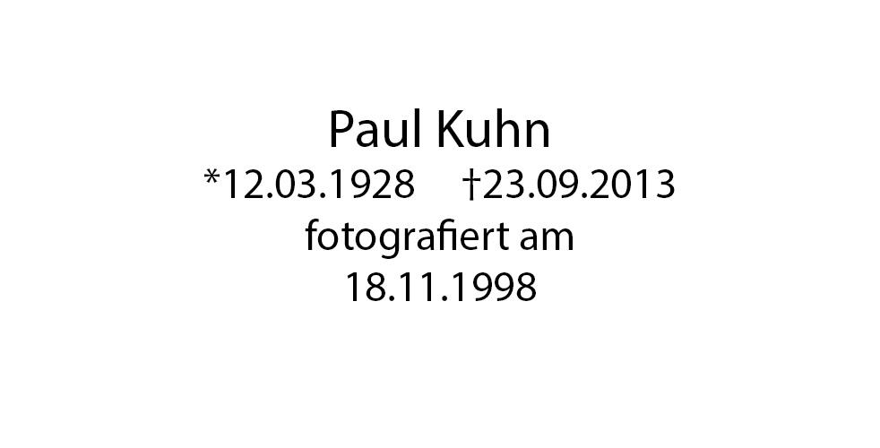 Paul Kuhn Portrait foto organico Picture Bild Krackhardt Christof Menschen des veröffentlichten Lebens Geburt Birth Datum