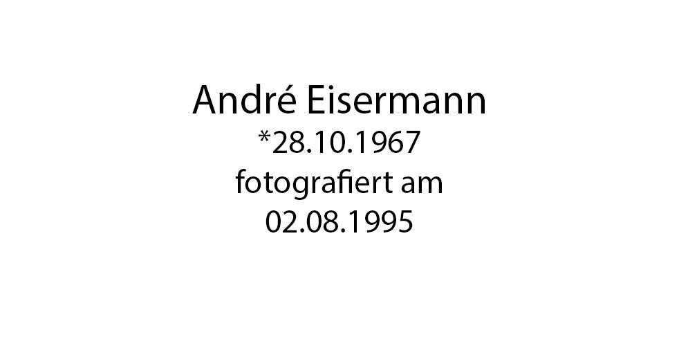 Andre Eisermann foto organico Picture Bild Krackhardt Christof Menschen des veröffentlichten Lebens Geburt Birth Datum