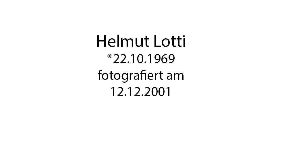 Helmut Lotti Portrait foto organico Picture Bild Krackhardt Christof Menschen des veröffentlichten Lebens Geburt Birth Datum