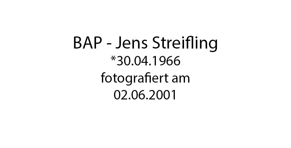 BAP Jens Streifling foto organico Picture Bild Krackhardt Christof Menschen des veröffentlichten Lebens Geburt Birth Datum
