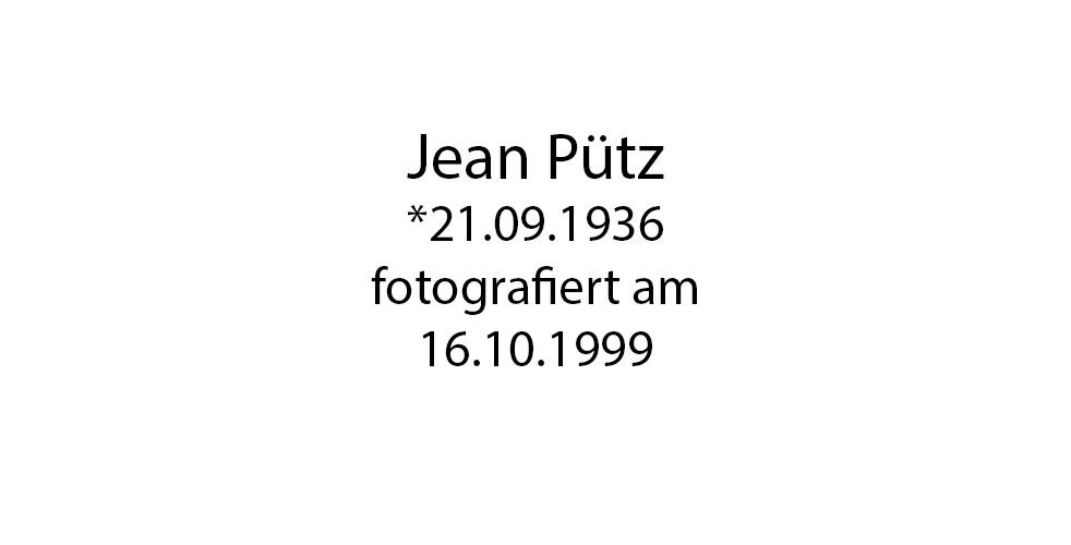 Jean Pütz Portrait foto organico Picture Bild Krackhardt Christof Menschen des veröffentlichten Lebens Geburt Birth Datum