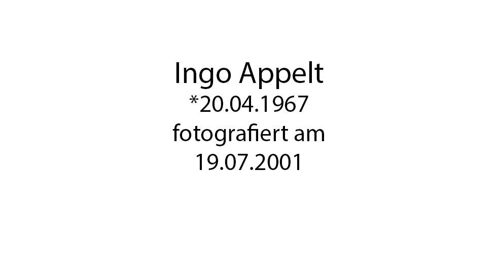 Ingo Appelt foto organico Picture Bild Krackhardt Christof Menschen des veröffentlichten Lebens Geburt Birth Datum