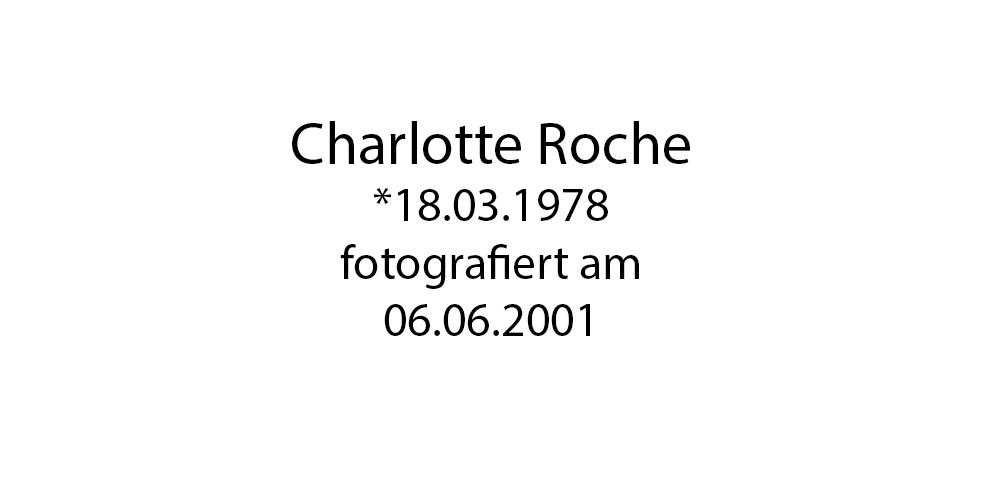 Charlotte Roche foto organico Picture Bild Krackhardt Christof Menschen des veröffentlichten Lebens Geburt Birth Datum