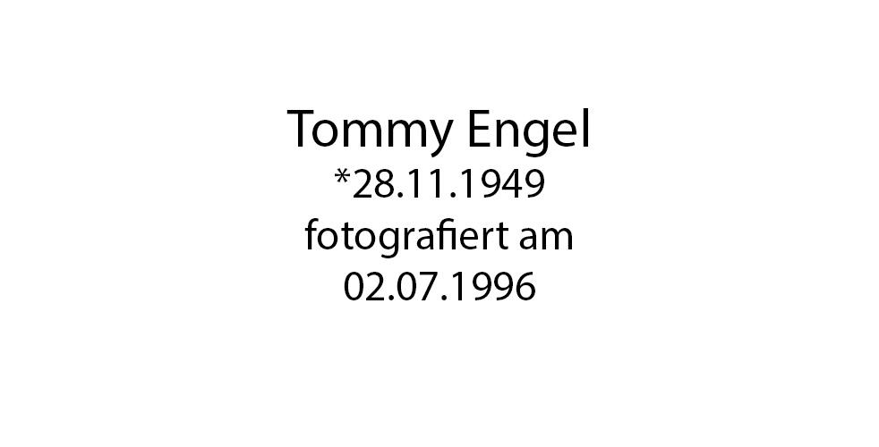 Tommy Engel foto organico Picture Bild Krackhardt Christof Menschen des veröffentlichten Lebens Geburt Birth Datum