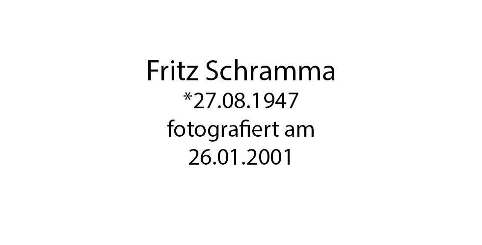 Fritz Schramma foto organico Picture Bild Krackhardt Christof Menschen des veröffentlichten Lebens Geburt Birth Datum