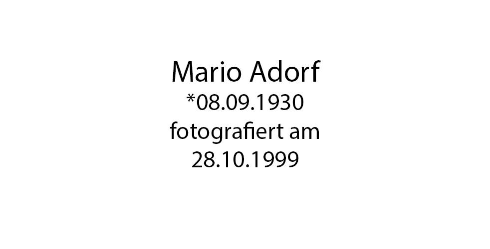 Mario Adorf foto organico Picture Bild Krackhardt Christof Menschen des veröffentlichten Lebens Geburt Birth Datum