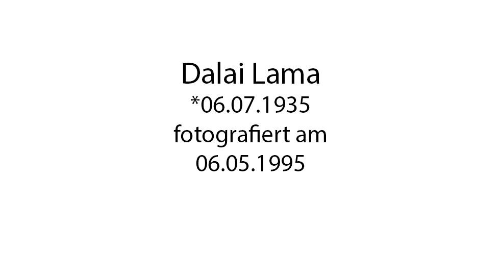 Dalai Lama Portrait foto organico Picture Bild Krackhardt Christof Menschen des veröffentlichten Lebens Geburt Birth Datum
