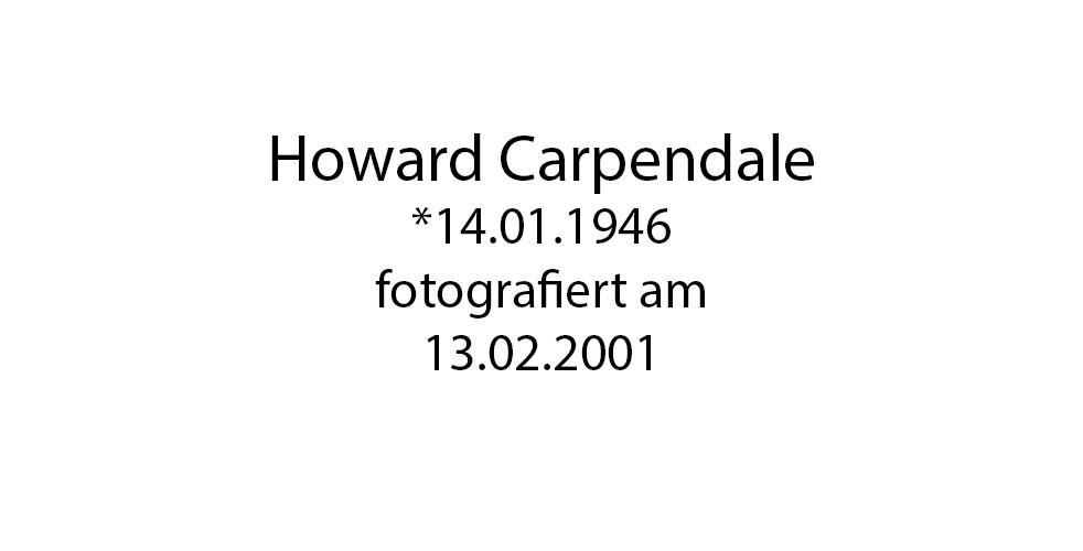 Howard Carpendale foto organico Picture Bild Krackhardt Christof Menschen des veröffentlichten Lebens Geburt Birth Datum