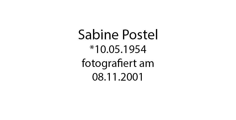 Sabine Postel foto organico Picture Bild Krackhardt Christof Menschen des veröffentlichten Lebens Geburt Birth Datum