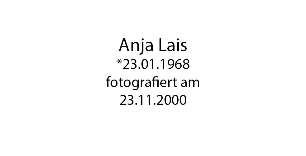 Anja Lais foto organico Picture Bild Krackhardt Christof Menschen des veröffentlichten Lebens Geburt Birth Datum