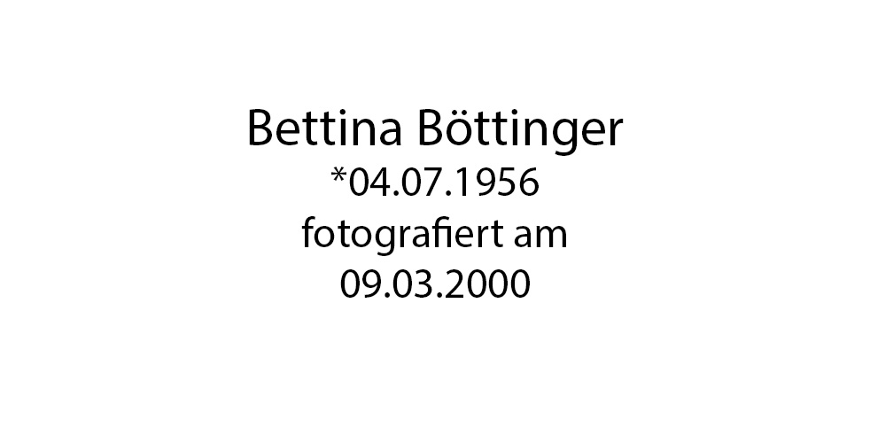 Bettina Böttinger foto organico Picture Bild Krackhardt Christof Menschen des veröffentlichten Lebens