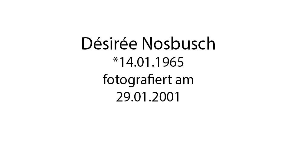 Desiree Nosbusch foto organico Picture Bild Krackhardt Christof Menschen des veröffentlichten Lebens Geburt Birth Datum