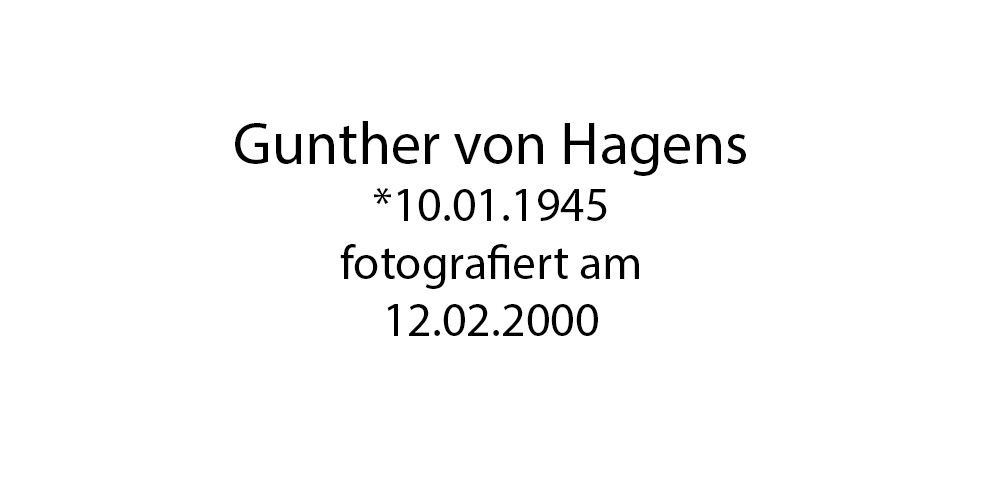 Gunther von Hagens foto organico Picture Bild Krackhardt Christof Menschen des veröffentlichten Lebens Geburt Birth Datum