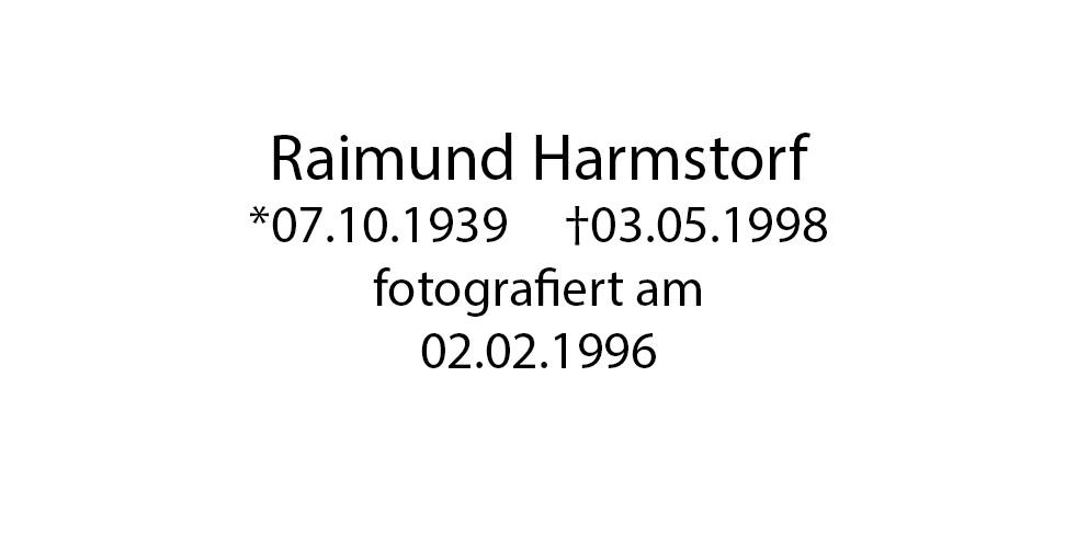 Raimund Harmstorf foto organico Picture Bild Krackhardt Christof Menschen des veröffentlichten Lebens Geburt Birth Datum