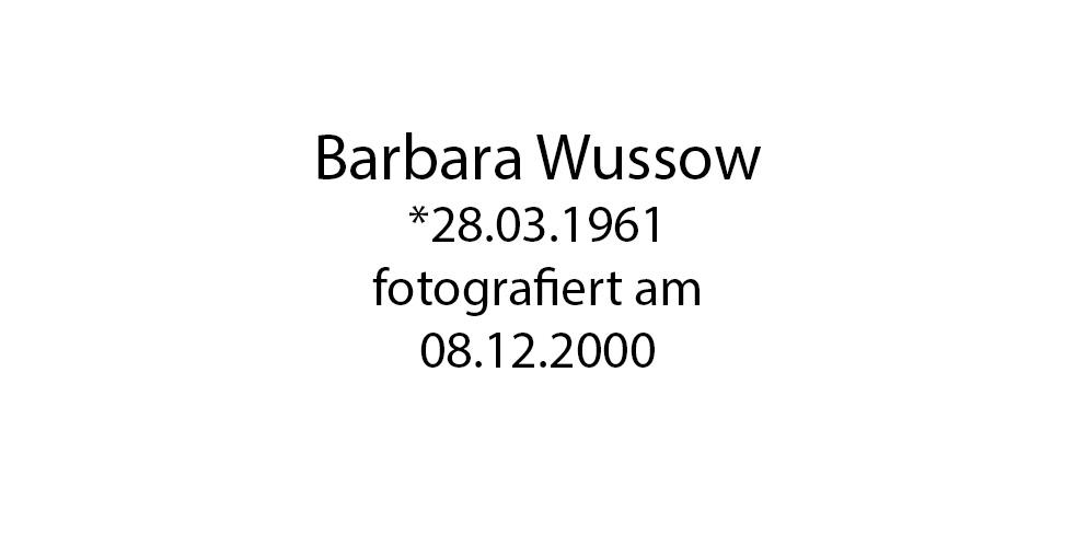 Barbara Wussow foto organico Picture Bild Krackhardt Christof Menschen des veröffentlichten Lebens Geburt Birth Datum