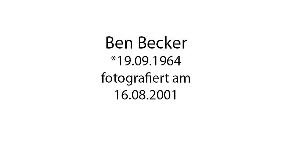 Ben Becker foto organico Picture Bild Krackhardt Christof Menschen des veröffentlichten Lebens Geburt Birth Datum