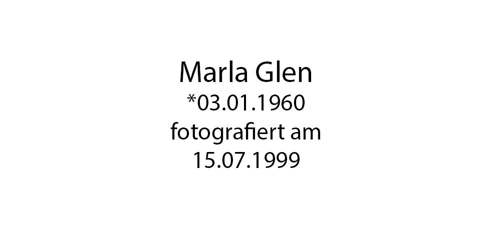 Marla Glen Portrait foto organico Picture Bild Krackhardt Christof Menschen des veröffentlichten Lebens Geburt Birth Datum